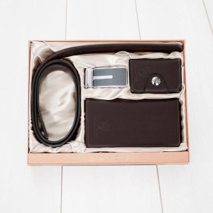 Dark Brown Leather Package